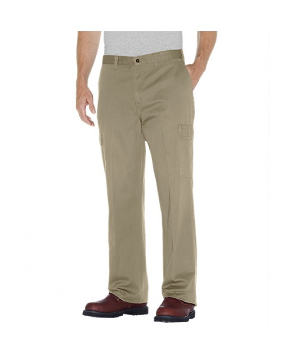 Dickies men's pants 23214RKH - Rinsed Khaki