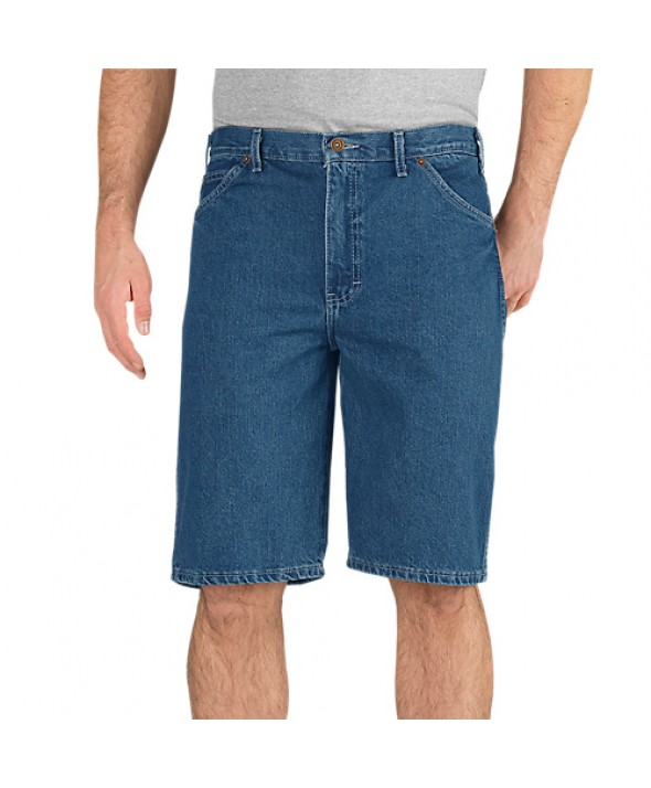 Dickies men's shorts 34293SNB - Stonewashed Indigo Blue