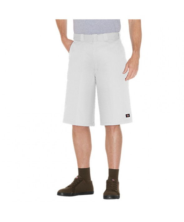 Dickies men's shorts 42283WH - White
