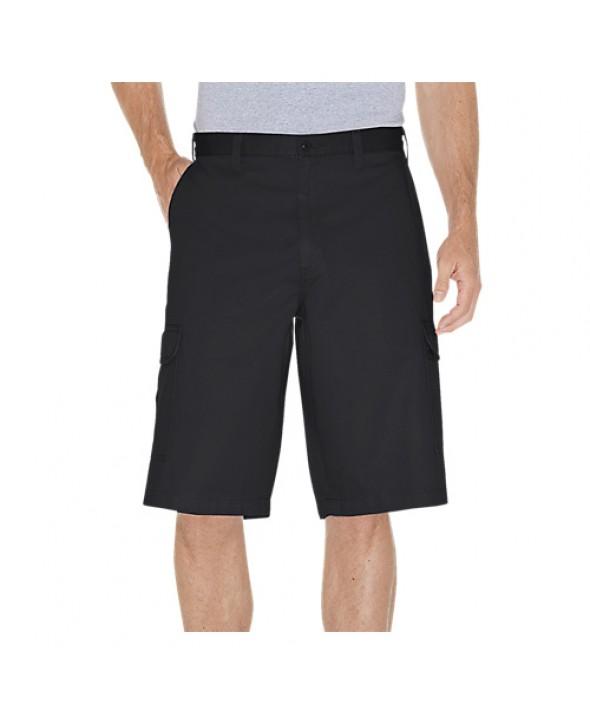 Dickies men's shorts 43214RBK - Rinsed Black
