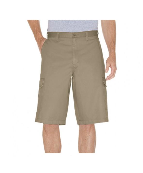 Dickies men's shorts 43214RKH - Rinsed Khaki