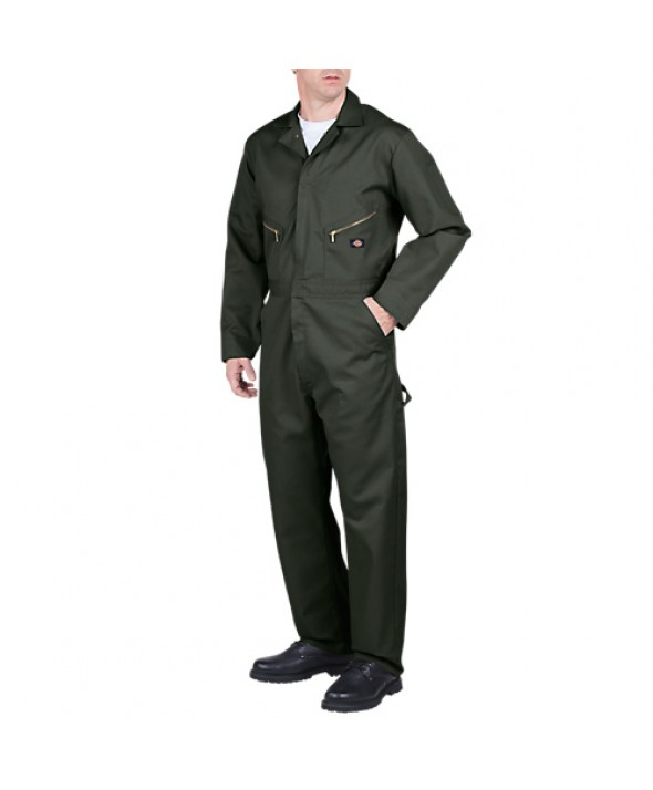 Dickies men's coveralls 48799OG - Olive Green
