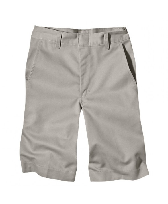 Dickies boy's shorts 54562SV - Silver