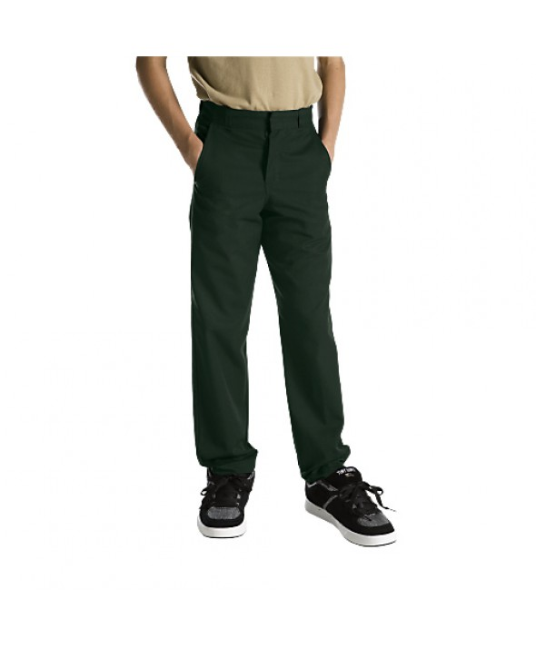 Dickies boy's pants 56062GH - Hunter Green