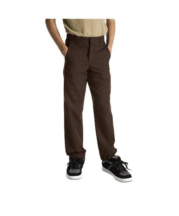 Dickies boy's pants 56062MH - Mahogany