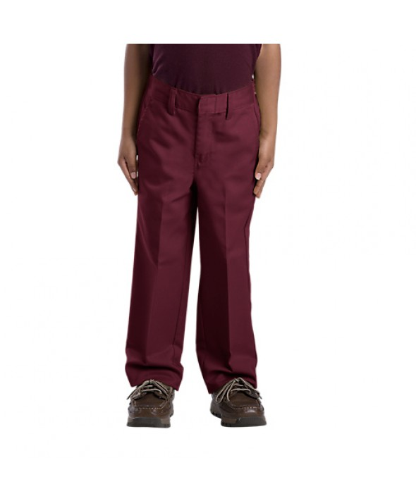 Dickies boy's pants 56362BY - Burgundy