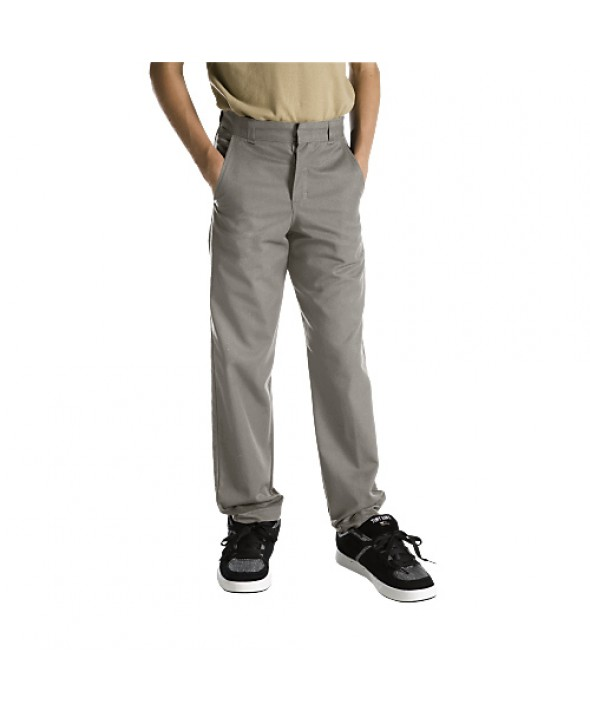 Dickies boy's pants 56562SV - Silver
