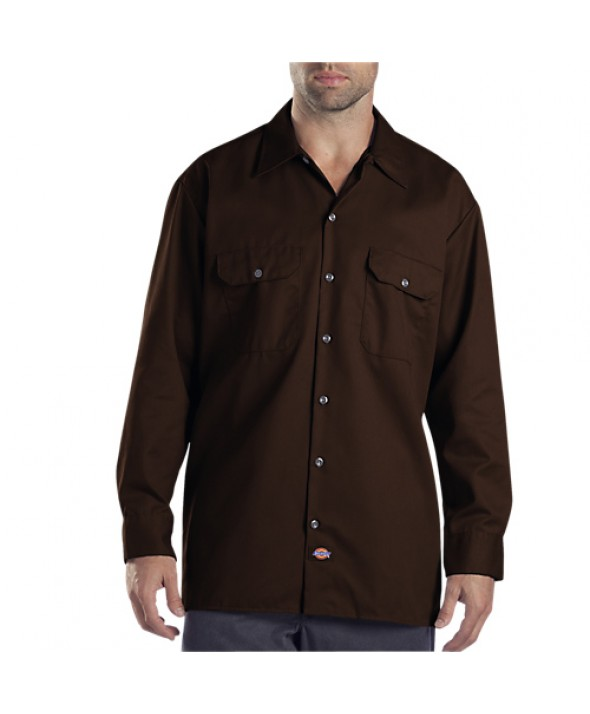 Dickies men's shirts 574DB - Dark Brown
