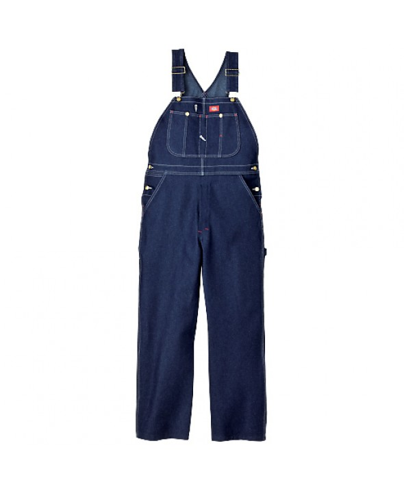 Dickies men's bib overalls 83294NB - Indigo Blue