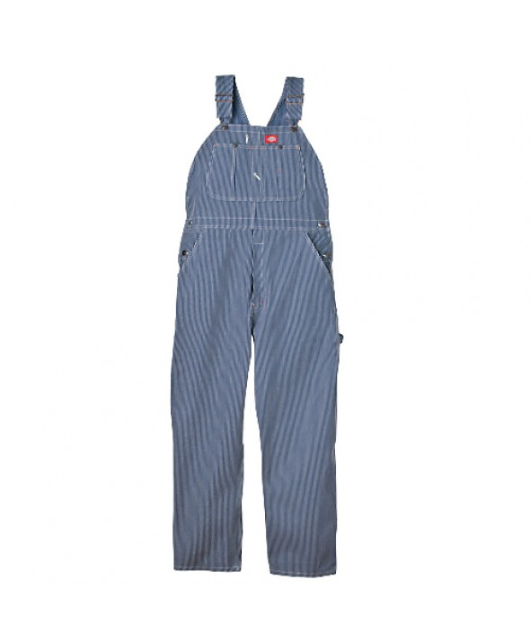 Dickies men's bib overalls 83297HS - Hickory Stripe