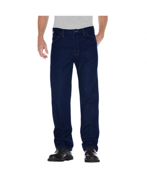 Dickies men's jean 5 pkt/paint/utility 9393NB - Indigo Blue