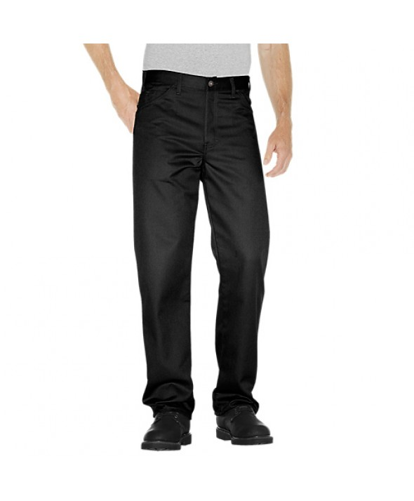 Dickies men's jean 5 pkt/paint/utility C7988BK - Black