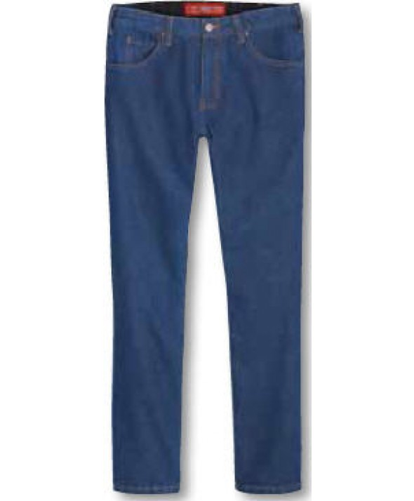 Dickies men's jean 5 pkt/paint/utility DD007RNB - Rinsed Indigo Blue