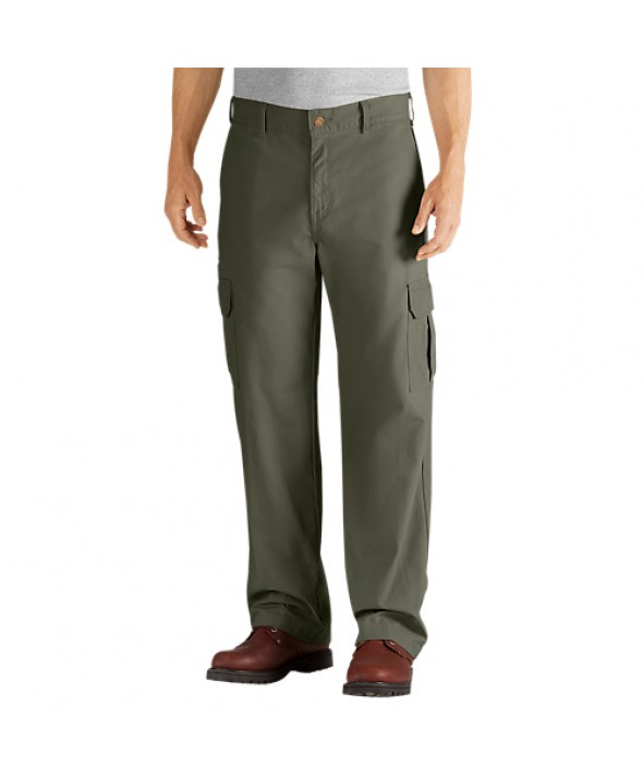 Dickies men's pants DD113RMS - Rinsed Moss Green