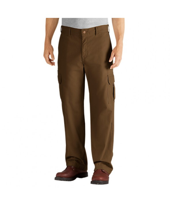 Dickies men's pants DD113RTB - Rinsed Timber