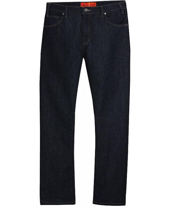 Dickies men's jean 5 pkt/paint/utility DP810RNB - Rinsed Indigo Blue