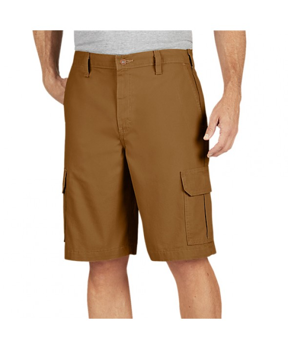 Dickies men's shorts DR251RBD - Rinsed Brown Duck