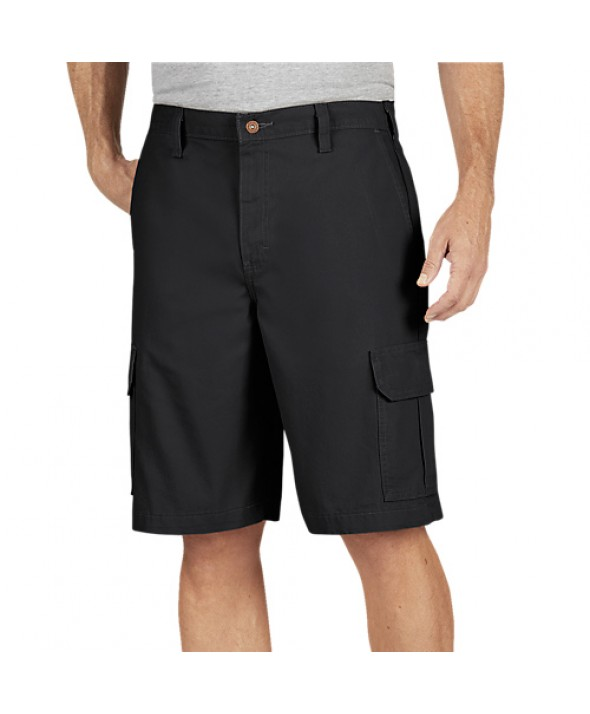 Dickies men's shorts DR251RBK - Rinsed Black