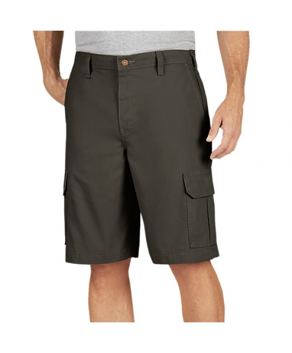 Dickies men's shorts DR251RMS - Rinsed Moss Green