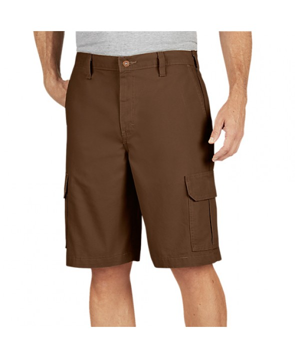 Dickies men's shorts DR251RTB - Rinsed Timber