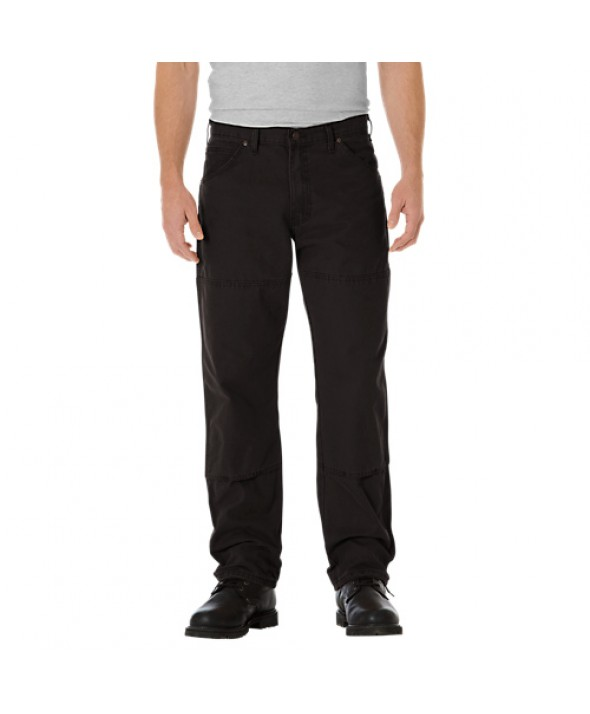 Dickies men's jean 5 pkt/paint/utility DU210RBK - Rinsed Black
