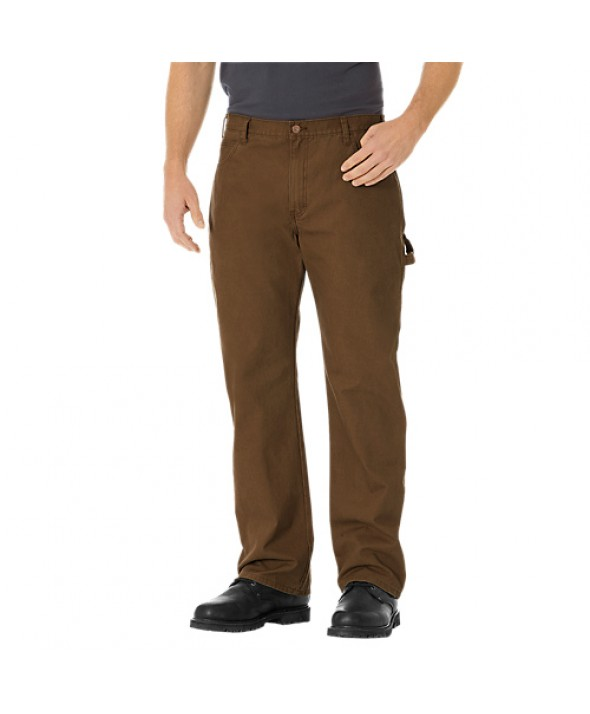 Dickies men's jean 5 pkt/paint/utility DU250RTB - Rinsed Timber
