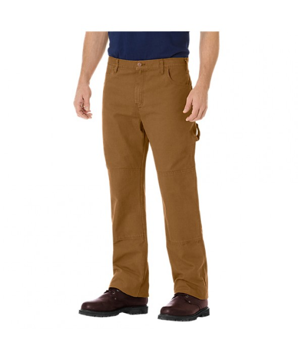 Dickies men's jean 5 pkt/paint/utility DU260RBD - Rinsed Brown Duck