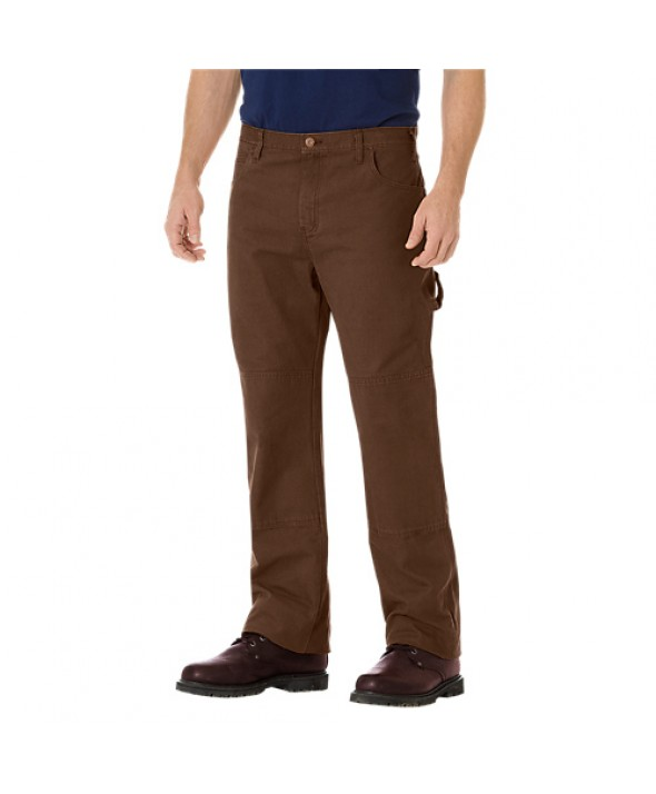 Dickies men's jean 5 pkt/paint/utility DU260RTB - Rinsed Timber