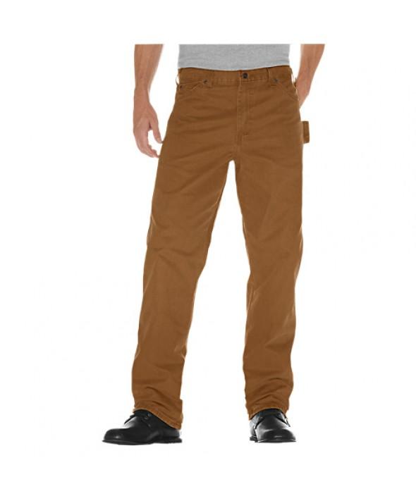 Dickies men's jean 5 pkt/paint/utility DU336RBD - Rinsed Brown Duck