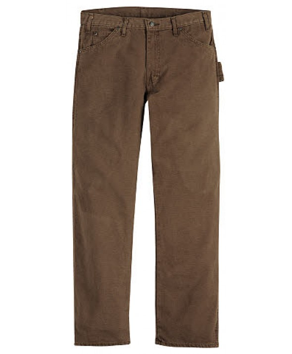 Dickies men's jean 5 pkt/paint/utility DU336RTB - Rinsed Timber