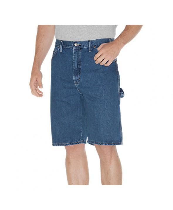 Dickies men's shorts DX200SNB - Stonewashed Indigo Blue