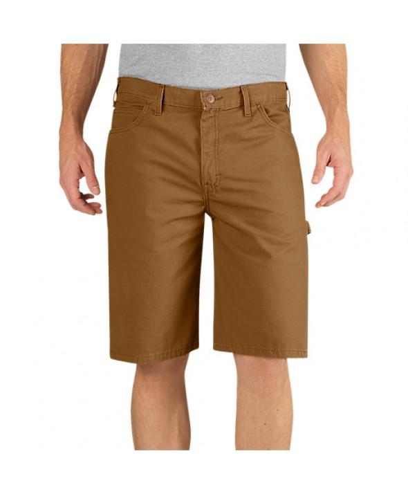 Dickies men's shorts DX250RBD - Rinsed Brown Duck