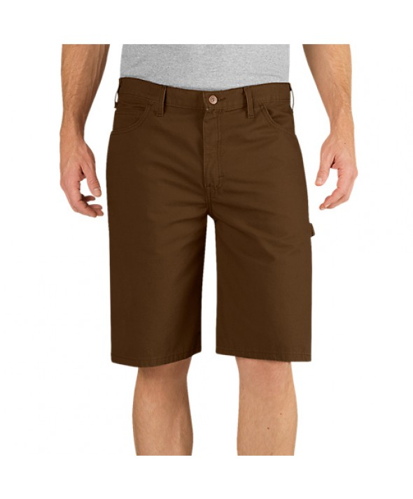Dickies men's shorts DX250RTB - Rinsed Timber