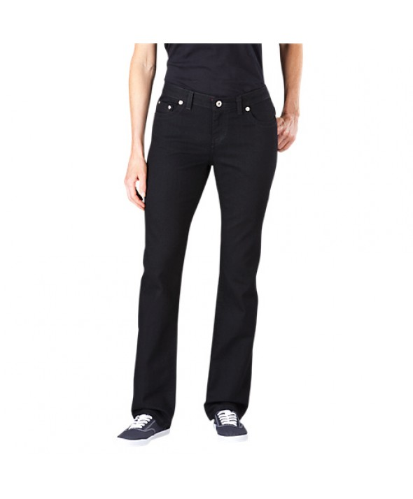 Dickies women's jeans FD135RBK - Rinsed Black