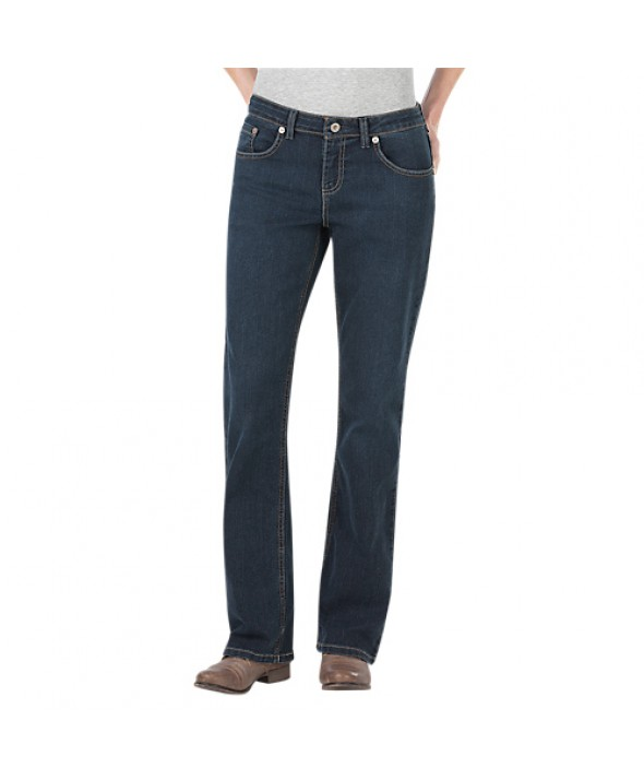 Dickies women's jeans FD138ATD1 - Antique Dark 1