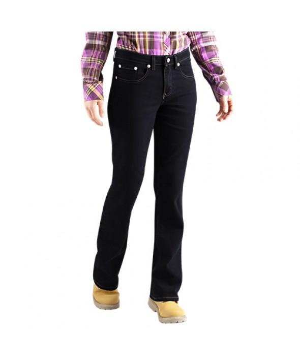 Dickies women's jeans FD138RBK - Rinsed Black