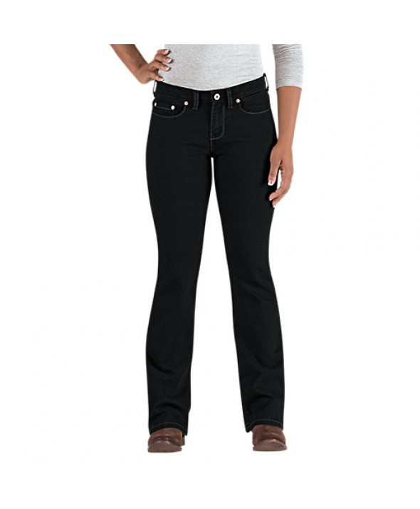 Dickies women's jeans FD143RBK - Rinsed Black