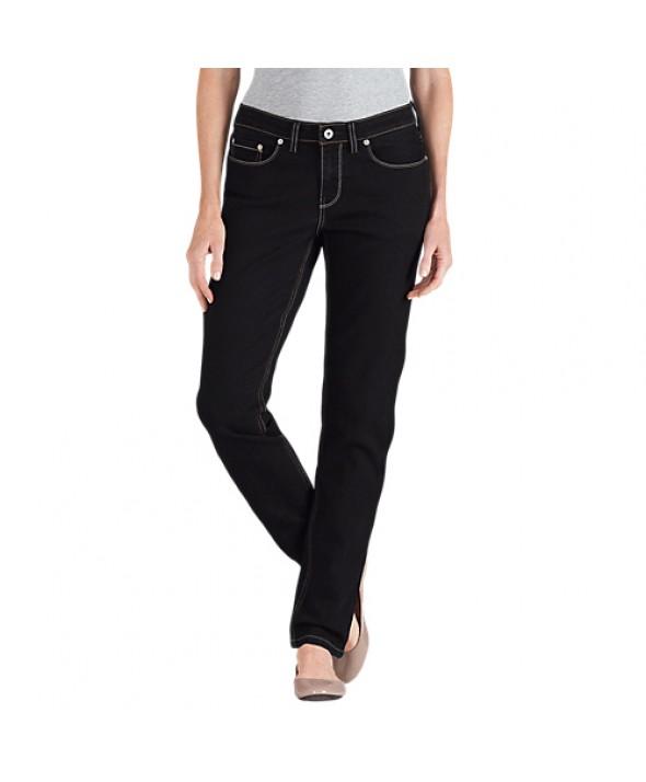 Dickies women's jeans FD144RBK - Rinsed Black