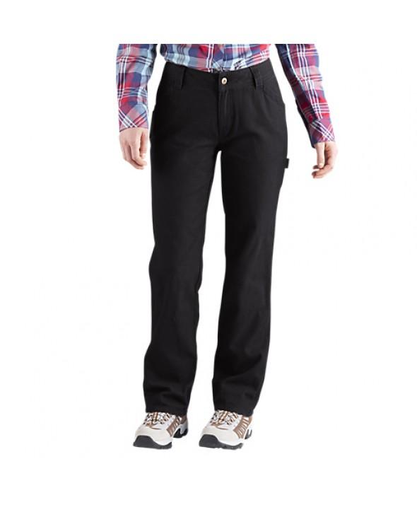 Dickies women's pants FD2300RBK - Rinsed Black
