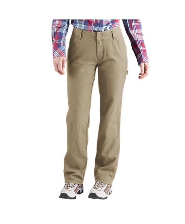 Dickies women's pants FD2300RDS - Rinsed Desert Sand