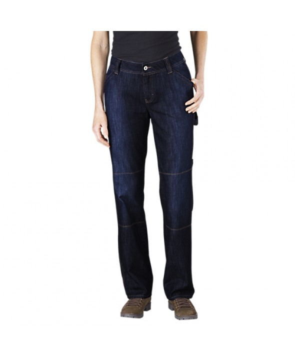 Dickies women's jeans FD230DIB - Dark Indigo Black