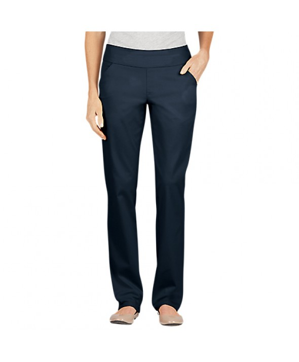 Dickies women's pants FD421RNB - Rinsed Indigo Blue