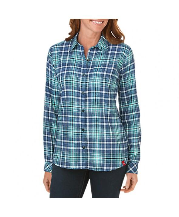 Dickies women's shirts FL075DFP - Dark Denim French Blue Aqua Gl