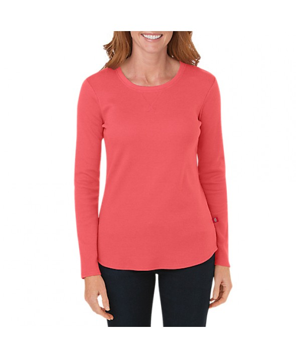 Dickies women's shirts FL078FC - Coral Reef