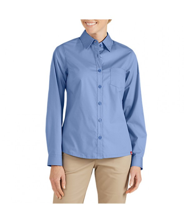 Dickies women's shirts FL086FB - French Blue