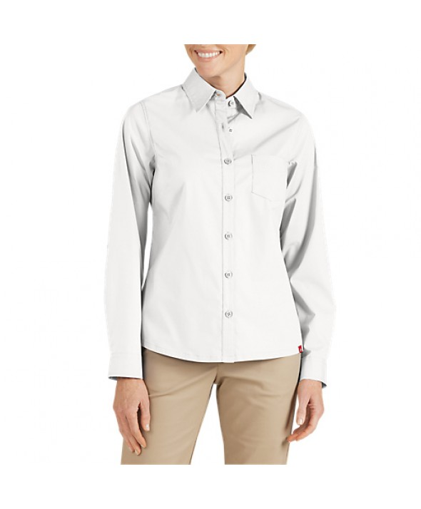 Dickies women's shirts FL086WH - White