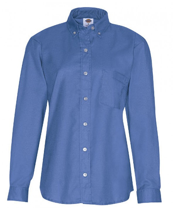 Dickies industrial women's shirts FL254FB - French Blue