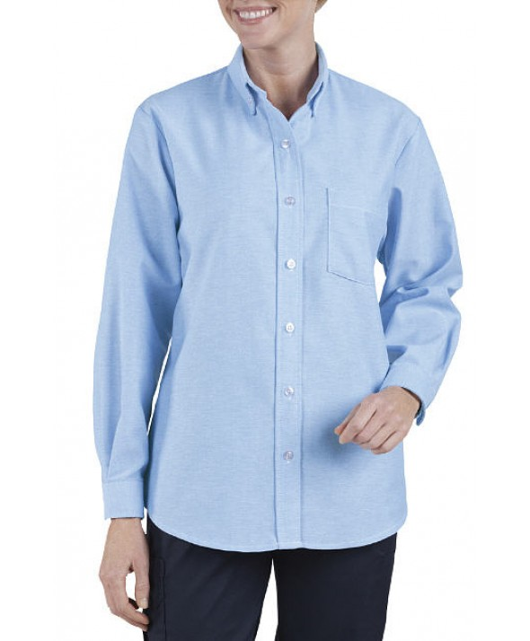 Dickies industrial women's shirts FL254LB - Light Blue