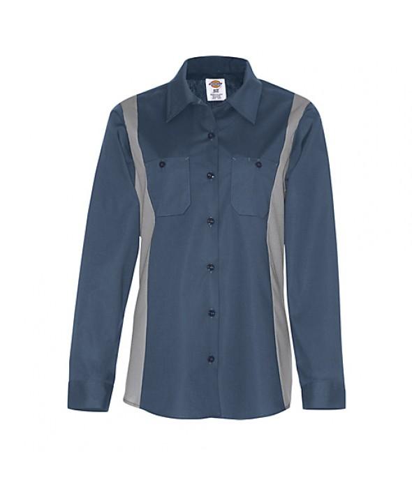 Dickies women's shirts FL524DNSM - Dark Navy/smoke
