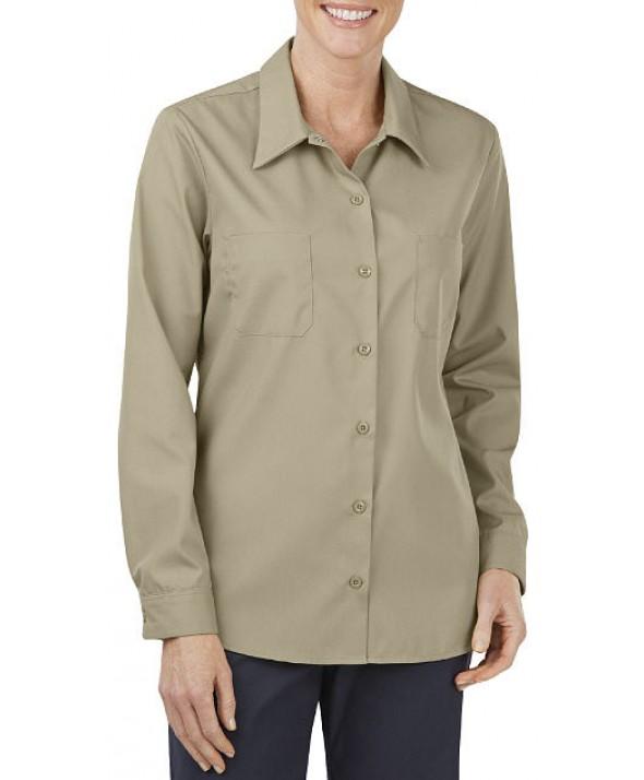 Dickies women's shirts FL5350DS - Desert Sand